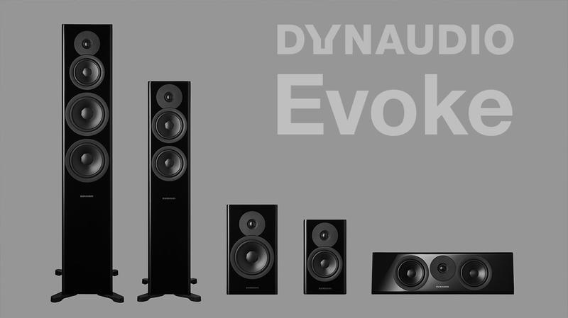 Dynaudio Evoke 全系列